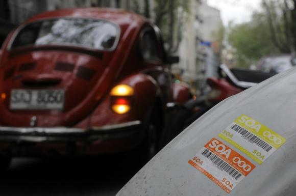 Vehículos: es el segundo rubro en cuánto a monto de pólizas. Foto: archivo El País