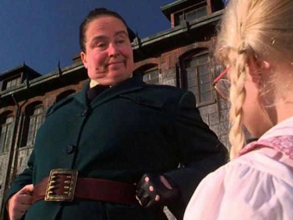 Pam Ferris como Tronchatoro en Matilda. Foto: difusión