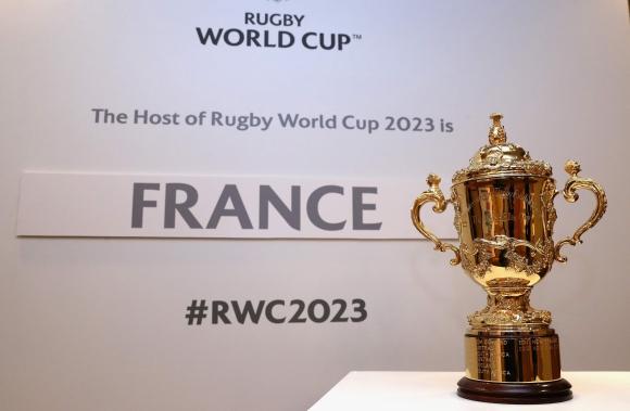Francia será la sede del Mundial de rugby en 2023. Foto: AFP.
