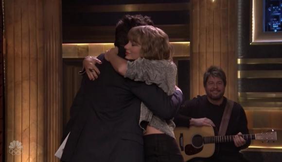 Taylor Swift y Jimmy Fallon