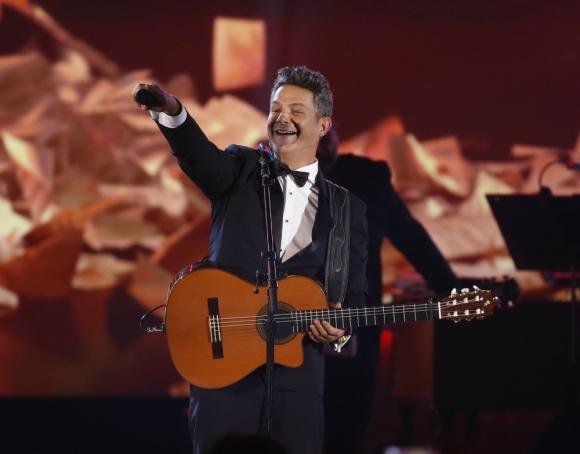 Alejandro Sanz, personalidad del año de los Latin Grammy