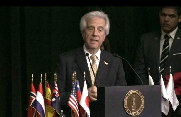 Vázquez dijo que se trabajará en un protocolo de acción. Foto: Presidencia