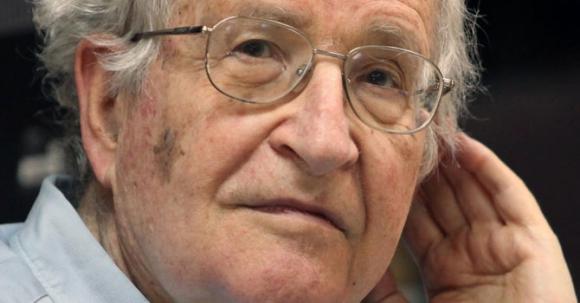 Noam Chomsky. Foto: AFP