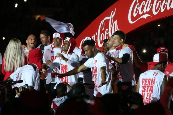 Perú se clasificó a Rusia 2018