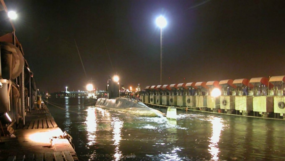El submarino desaparecido cerca de Chubut. Foto: Tandanor.