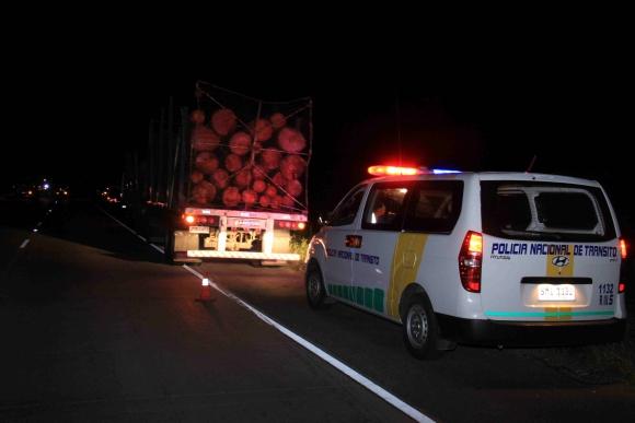 Accidente en ruta 24. Foto: Daniel Rojas