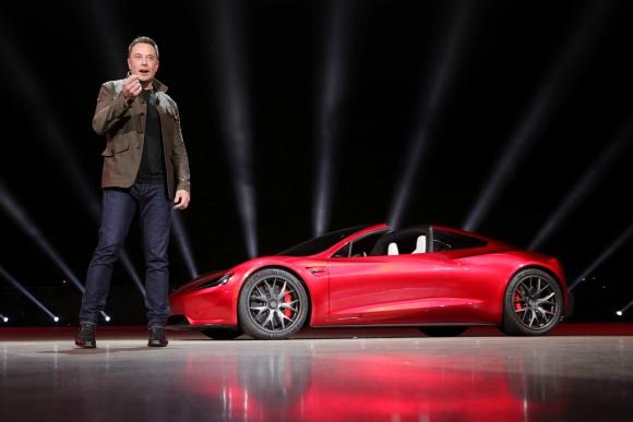 Tesla Roadster, el eléctrico más rápido del mundo