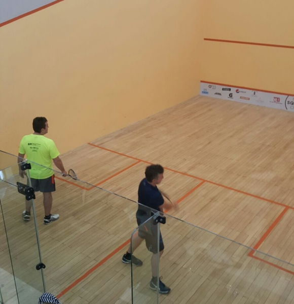 El Monntevideo Squash Open se disputa en el Club Carrasco.