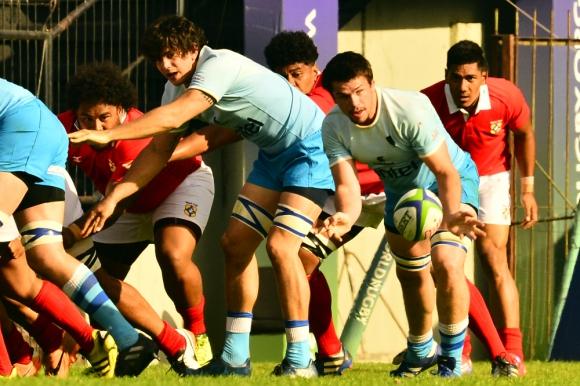 De visita. Uruguay enfrenta a Namibia en el primer partido de la ventana de noviembre. Foto: Gerardo Pérez