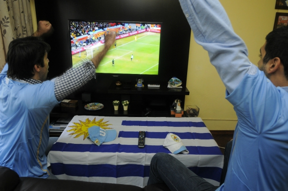 Proyecto: los partidos de Uruguay en instancias finales serán emitidos. Foto: Archivo