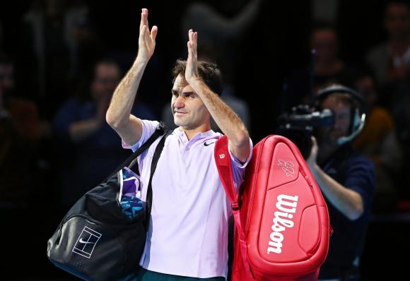 Roger Federer. Foto: EFE.