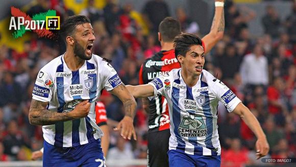 Gol de Robert Herrera y Pachuca empató pasada la hora