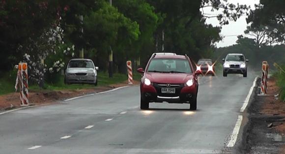 Cambios en velocidades máximas en Ciudad de la Costa. Foto: Intendencia de Canelones