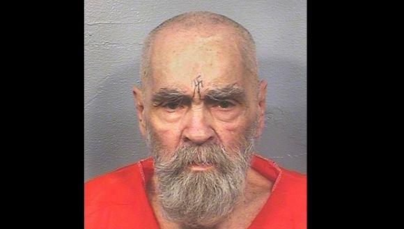 Manson: una de las últimas fotos del asesino en la cárcel. Foto: Reuters