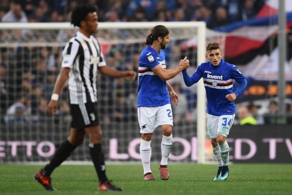 Fraybentino. Lucas Torreira es el que más recupera pelotas en Italia. Foto: AFP