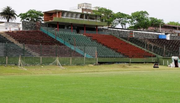 Así luce el Estadio Olímpico de Rampla para recibir a los tricolores. Foto: Darwin Borrelli