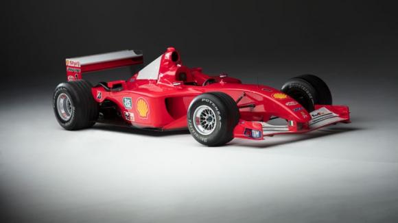 Para más de algunos el automóvil vale ese precio debido a su historia junto a Michael Schumacher. Foto: Sotheby's