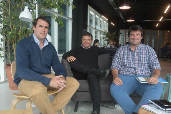 Socios. Izuibejeres, Hounie y Vilar del Valle unieron fuerzas para este proyecto.