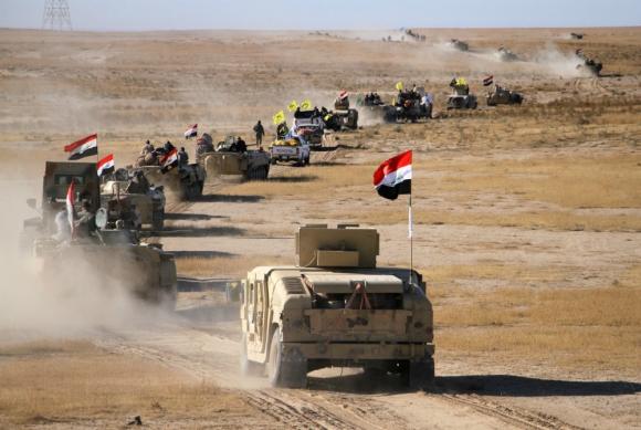 Irak: los yihadistas del ISIS están desplegados en el 4% del país. Foto: AFP