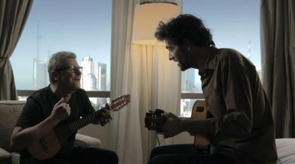 Gustavo Santaolalla y Pablo Dacal