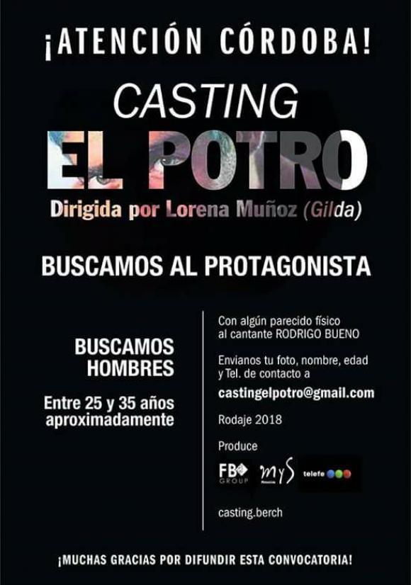 """Buscan protagonista para """"El Potro"""""""