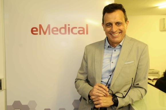 """Oromí. El director ejecutivo de eMedical destacó que la alianza con Becton Dickinson""""va más allá del producto en sí"""" apuntando a la capacitación del personal de salud."""