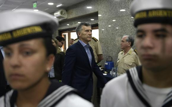 Mauricio Macri. Foto: AFP