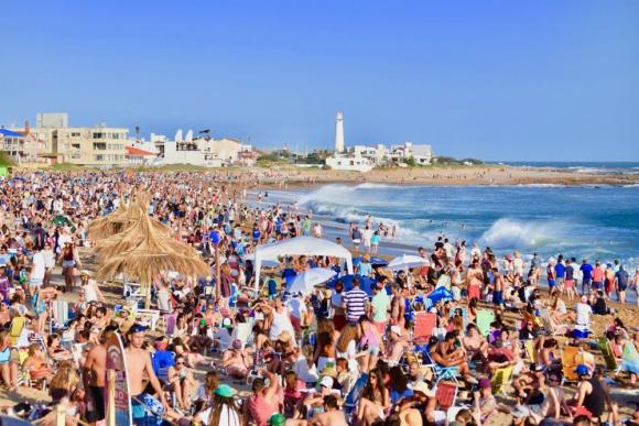 La Paloma: desde hace años las playas son una de las más visitadas por turistas. Foto: Turismo Rocha