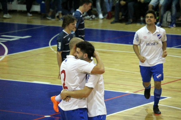 Nacional le ganó al Old Christians y se coronó campeón. Foto: Matías Pérez