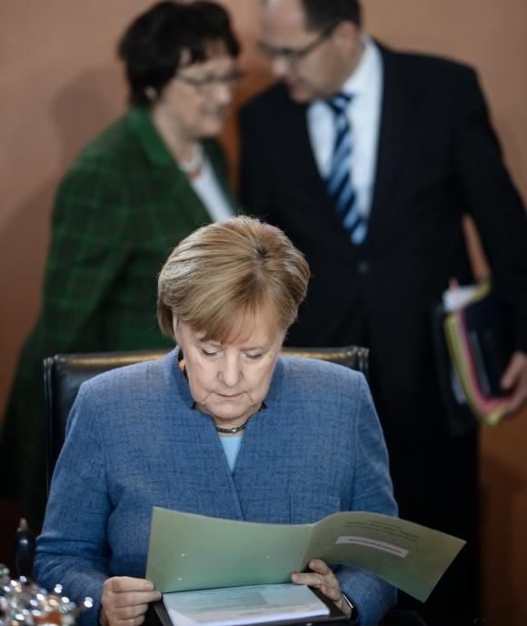 Merkel juega un papel decisivo para tomar decisiones en la Unión Europea. Foto: EFE