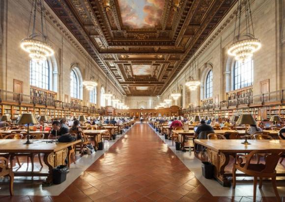 Célebre: un centro al que acuden numerosos estudiosos. Foto: EFE