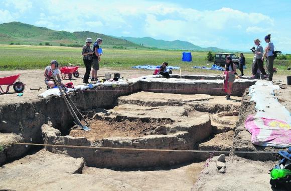 El lugar de Georgia donde fueron encontradas las vasijas. Foto: EFE