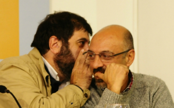 Fernando Pereira y Marcelo Abdala dicen que empresario los desacreditó. Foto: M. Bonjour