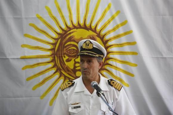Enrique Balbi, vocero de la Armada Argentina. Foto: La Nación (GDA)