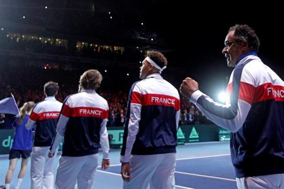 Francia en la Copa Davis. Foto: EFE