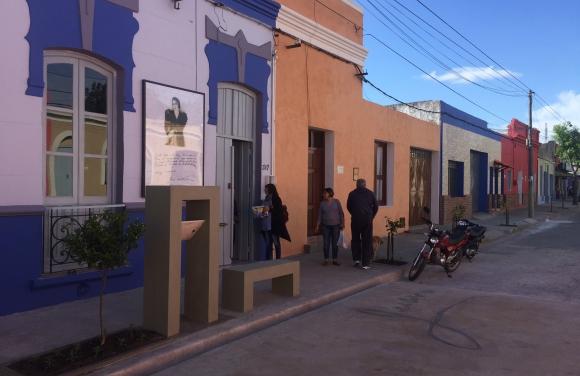 La Casa Museo de Juana, ubicada en Treinta y Tres 317, fue modificada. Foto: N. Araújo