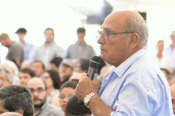 Vecino que propuso crear la Universidad del Mar. Foto: Darwin Borrelli.