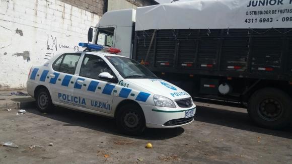 Un camionero fue herido de bala esta madrugada. Foto: El País