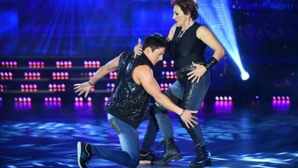 Consuelo Peppino bailando reggaetón