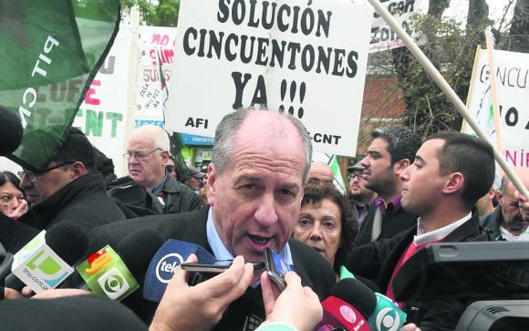 Murro: su postura sobre proyecto de ley de cincuentones parece ser la que prevaleció dentro del gobierno. Foto: F. Flores