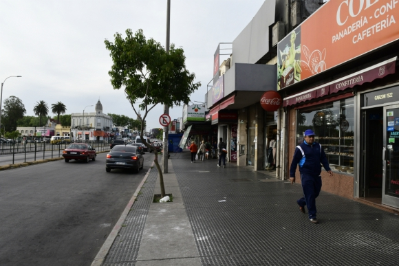 El emporio comercial de Colón volverá a tener a su frente una avenida tradicional. Foto: M. Bonjour