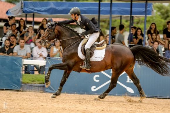 Rafael Rodríguez en competencia