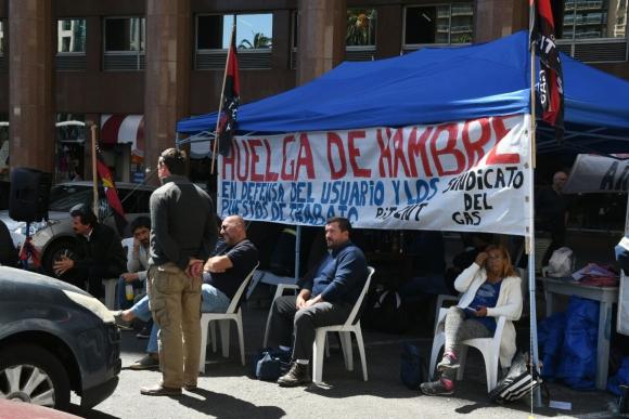 Ocupación del sindicato del gas. Foto: Ariel Colmegna