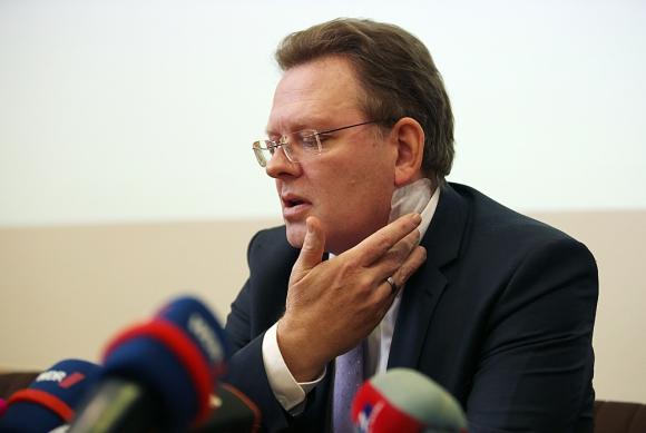 Andreas Hollstein, alcalde de Altena. Foto: AFP