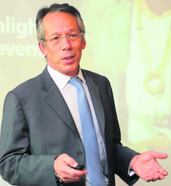 Bracher: el presidente de Itaú Unibanco ayer en San Pablo en encuentro con periodistas. Foto: Itaú