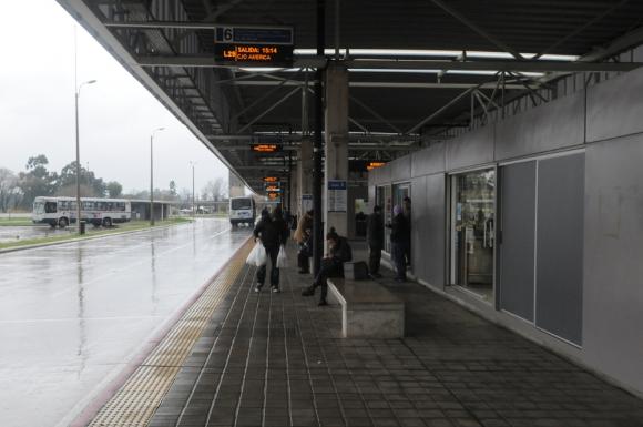 Obras de 70 metros del Corredor Garzón costarían a la IMM unos US$ 300 mil. Foto: F. Ponzetto