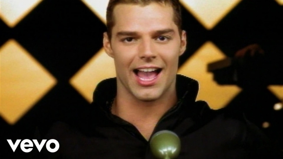 Ricky Martin - Livin' La Vida Loca. Foto: difusión