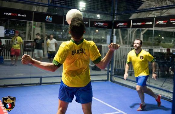 Copa América de Padbol en Brasil. Fotos: Padbol Brasil