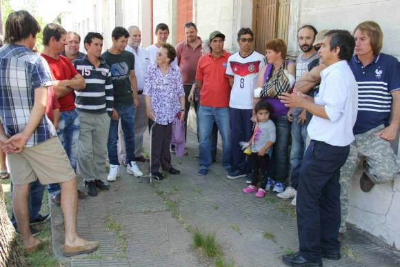 Vecinos critican proceder de la comitiva que allanó más de 20 casas. Foto: D. Rojas