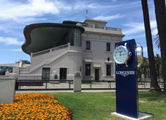 Relojes y cronómetros de Longines ya están en Maroñas